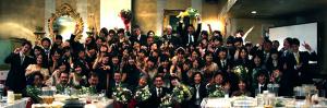 2012年 南山大学人文学部心理人間学科卒業謝恩会の撮影