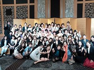 名古屋ウェディング&フラワー・ビューティ学院 2012  卒業謝恩会