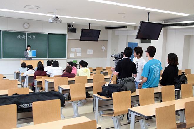 2014年 東海学園大学 デジタルサイネージCM制作授業 メイキング