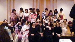 名古屋ウェディング&フラワー・ビューティ学院2015年度 卒業謝恩会