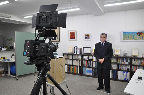 ラボラトリー方式の体験学習 ミニレクチャー映像撮影