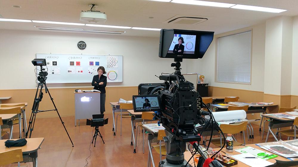 今日は講座動画の撮影です。