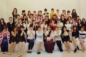 名古屋ウェディング&フラワー・ビューティ学院 2013年度 卒業謝恩会