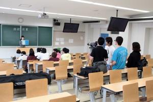 2014年 東海学園大学 キャンパス紹介ドラマ制作授業  メイキング前編