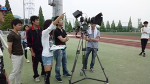 東海学園大学 オープンキャンパス2011 TVCM制作授業&メイキング