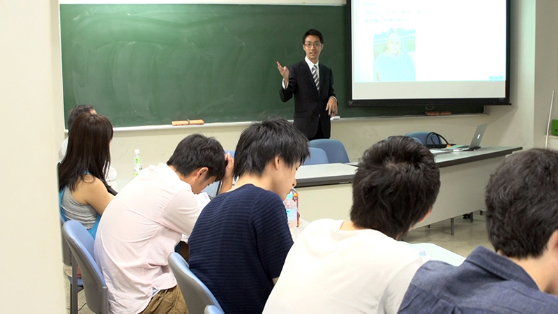 津田さんの東京大学での講義を撮影取材して参りました。