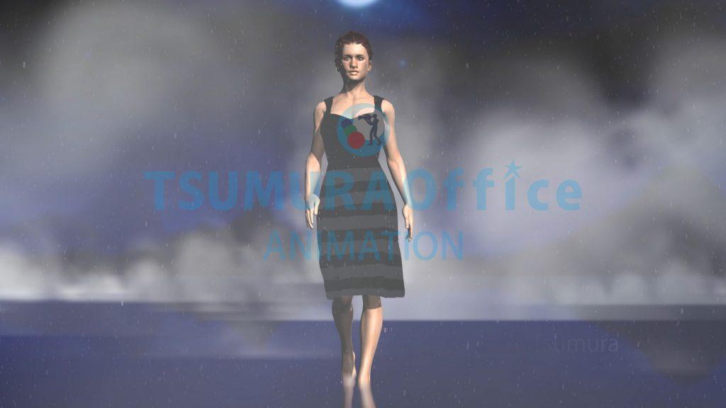 3DCGアニメーションのデモムービーを制作しました。